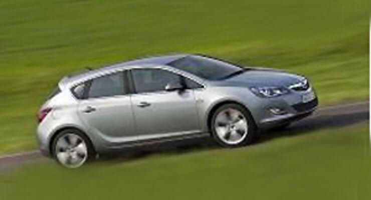 Opel Astra wird Dritter