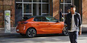 Opel Corsa-e 2020, E-Auto, Elektroauto, Kabel, Ladesäule, laden
