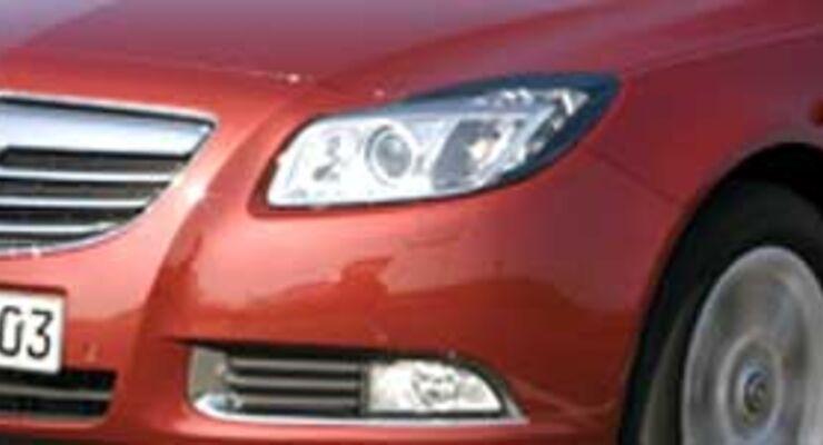 Opel Insignia: sportlich-muskulöses Flaggschiff