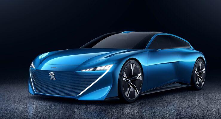 PSA will in Zukunft die Antriebe seiner Modelle stärker elektrifizieren. Die Studie Peugeot Instinct gab eine Vorgeschmack auf die künftige Strategie des Konzerns