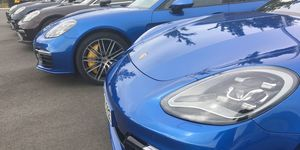 Porsche, Flotte, Parkplatz, Fuhrpark, Panamera, 2017