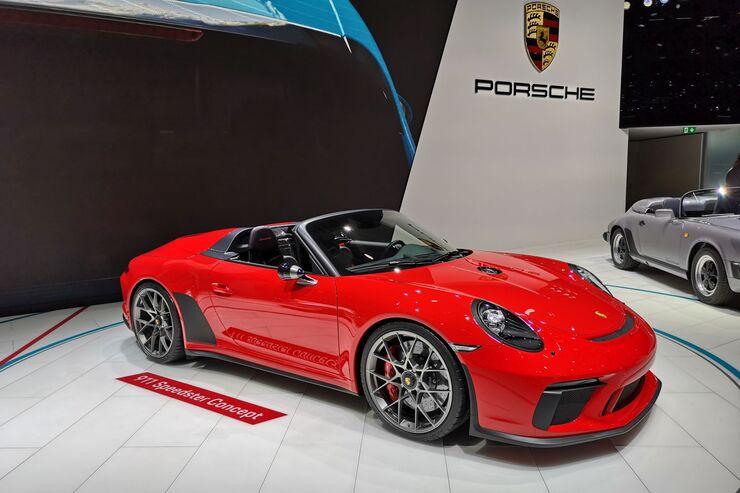 Porsche Speedster Concept Paris 2018