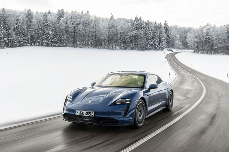 Porsche Taycan 2021, E-Auto,