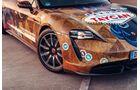Porsche Taycan, Folierung, Beklebung, Car-Wrapping, Showcar, Signal Design