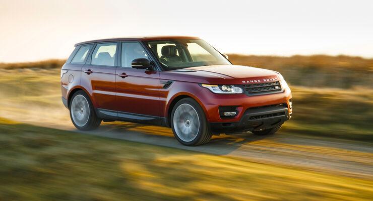 Range Rover Sport von vorne