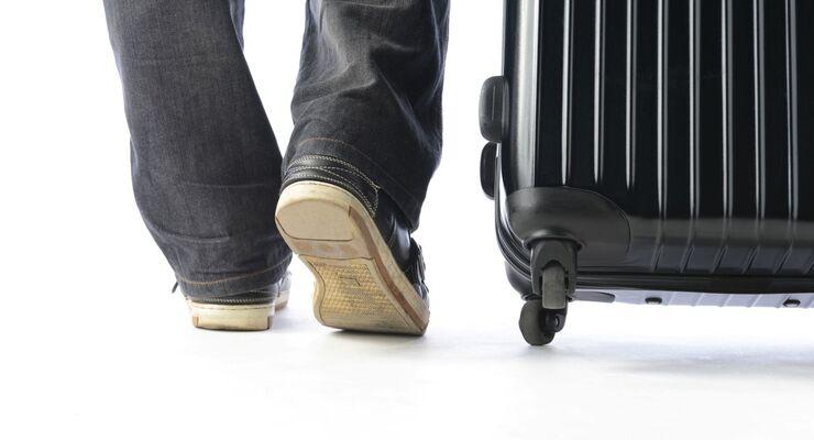 Reisekosten, Koffer, Reisender