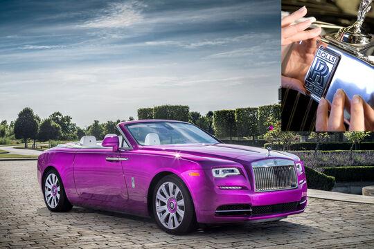 Rolls-Royce, dawn,