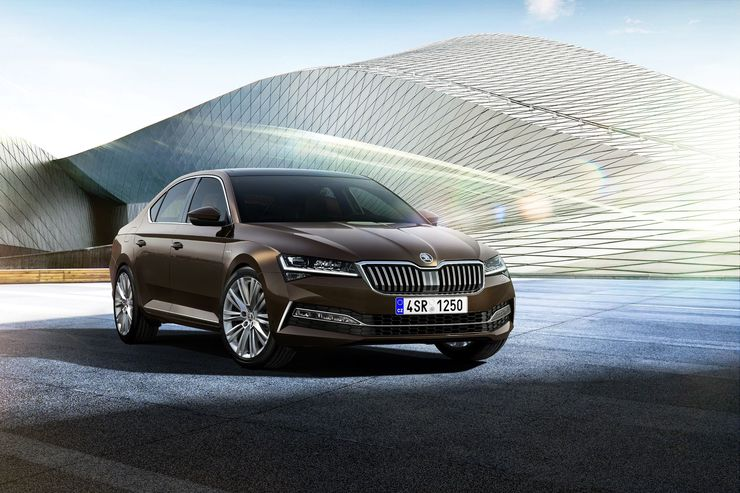 Skoda Superb Facelift 2019