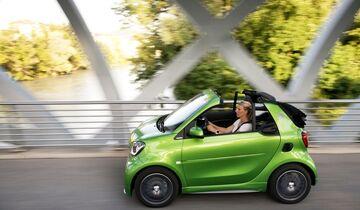 Smart Fortwo Cabrio Electric Drive 2016