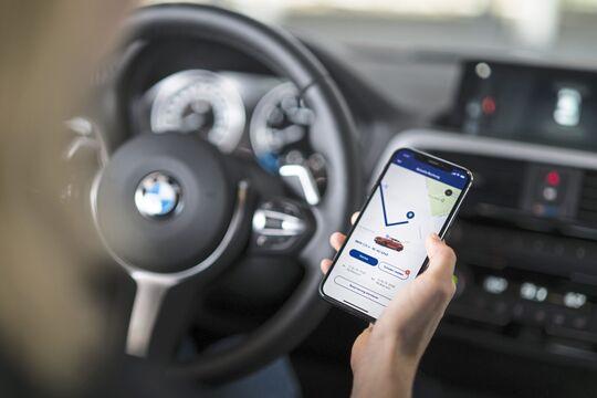 Smartphone Fahrtenbuch APP