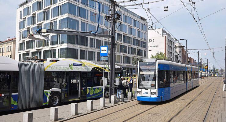 Solaris Krakau alternative Antriebe Bus ÖPNV Polen 2018