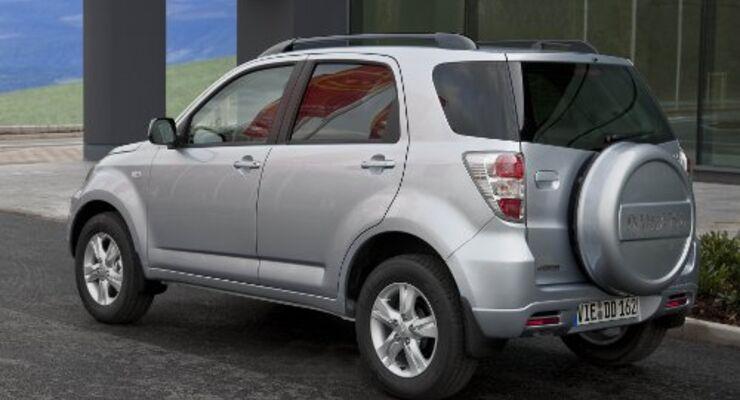 Sondermodell für Daihatsu Terios