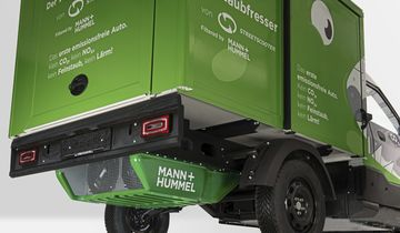 StreetScooter Filtersystem Mann + Hummel Feinstaub