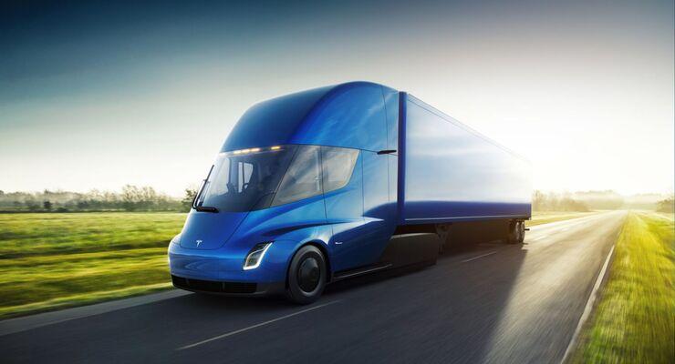 Tesla will seinen elektrischen Semi im kommenden Jahrzehnt auf die Straße bringen