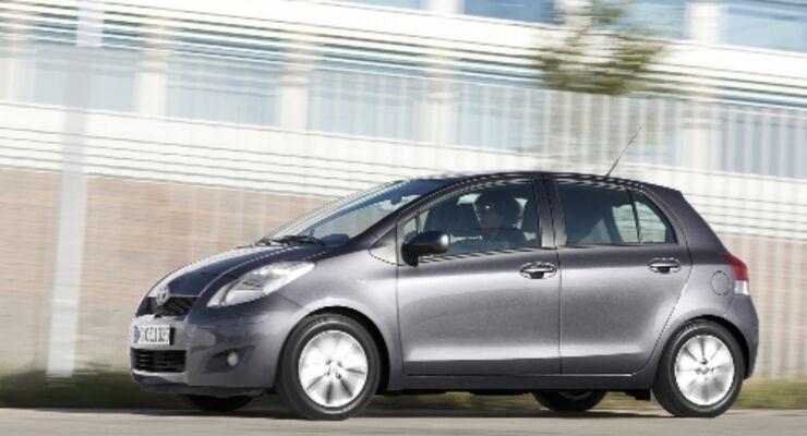 Toyota-Kleinwagen mit Preisvorteil