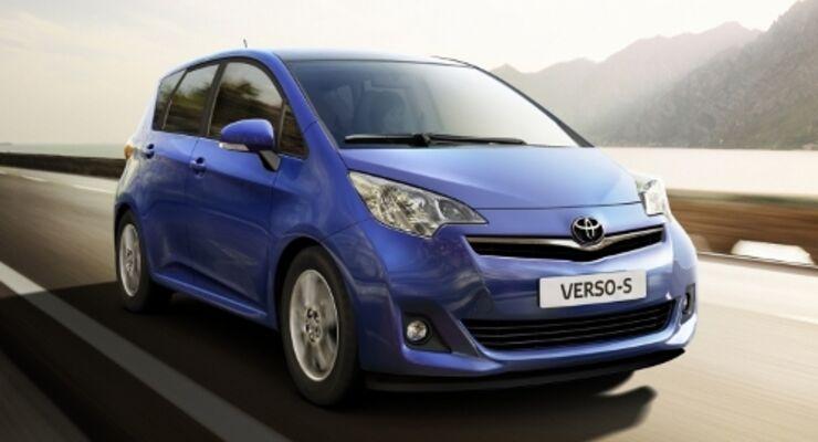 Toyota Verso S ab März beim Händler