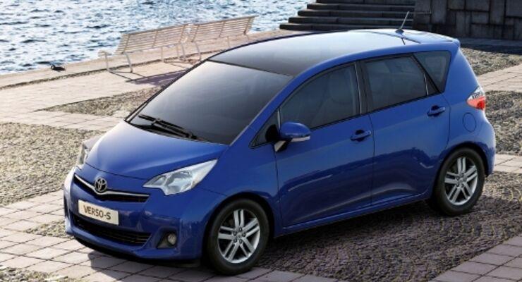 Toyota macht sich wieder ganz klein
