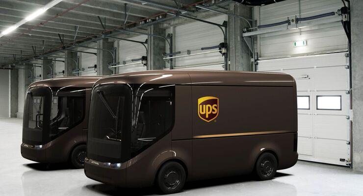 UPS e-Lieferwagen