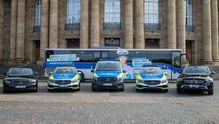 Über 1.400 neue Mercedes-Benz Fahrzeuge für baden-württembergische Polizei