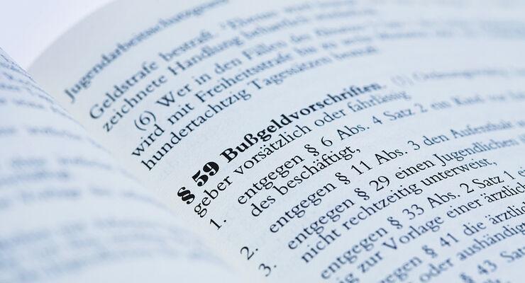 Unter bestimmten Voraussetzungen können die Behörden das Regelbußgeld erhöhen.