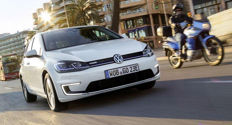 VW E-Golf, Golf GTE