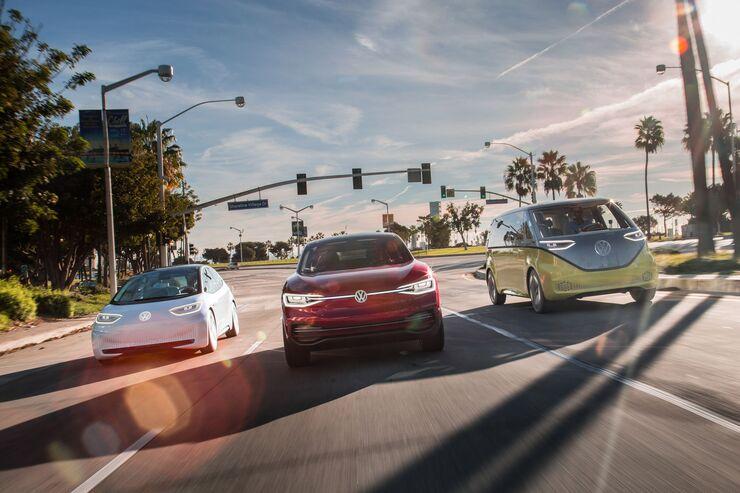 VW Elektro Offensive