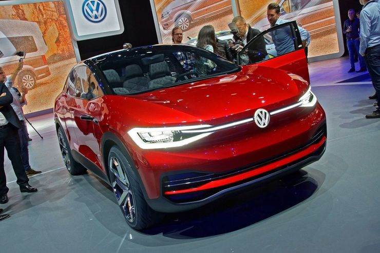 VW I.D. Crozz II IAA 2017