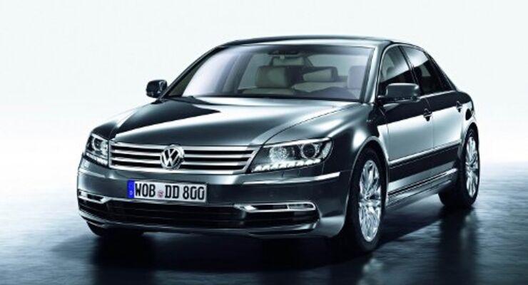VW Phaeton mit neuer Front