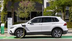 VW Tiguan E-Hybrid 2021, Plug-in Hybrid, Ladesäule, laden