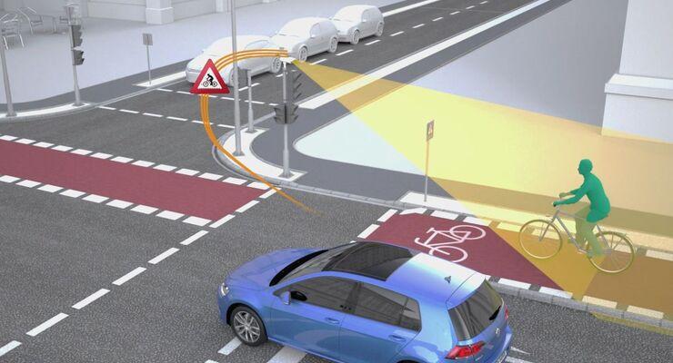 VW und Siemens testen in Wolfsburg die Car2X-Kommunikation