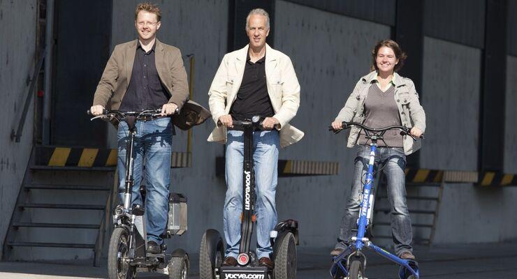Vergleich E-Bikes