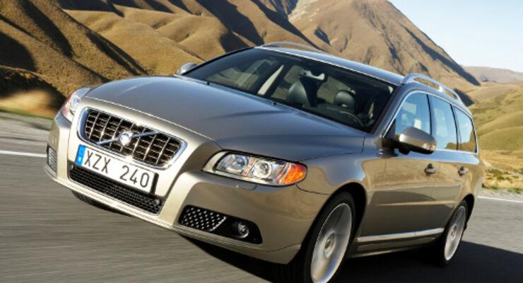 Volvo V70 überzeugt im ADAC-Ecotest