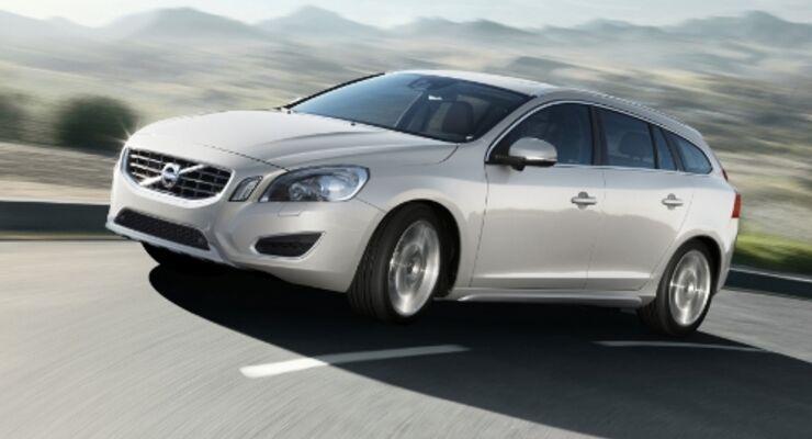 Volvo präsentiert V60 Hybrid