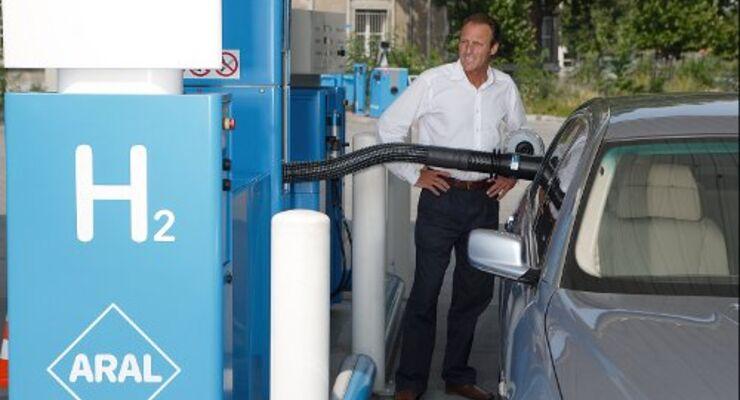 Wasserstoff: Tankstellen an jedem Ort