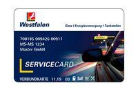 Westfalen Card weiss