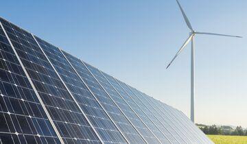 Windrad, alternative Antriebe, Solar, Strom, Energiewende