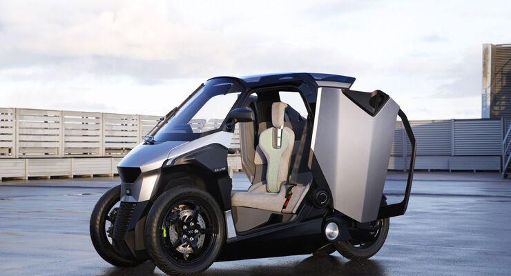 Zwei-Personen-Hybrid-Kabinenroller