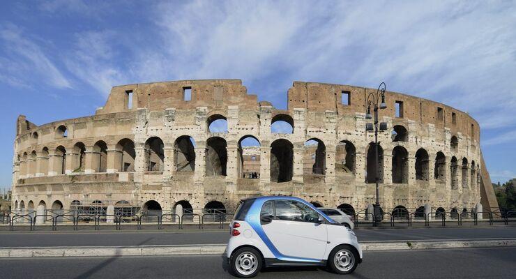 car2go, Rom, moovel