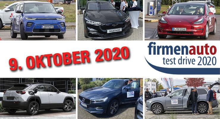 firmenauto test drive 2020
