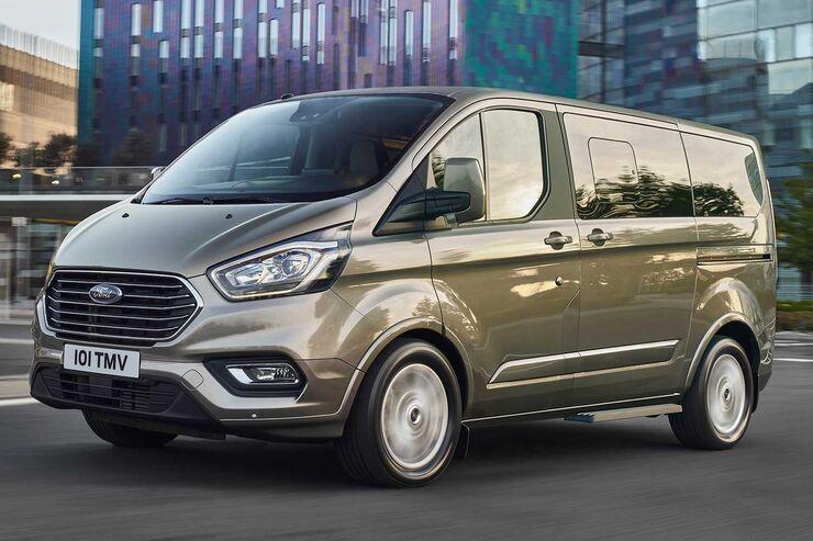 ford, tourneo, custom, facelift, 2018, schräg, vorne, links