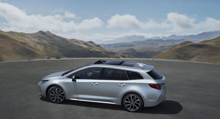 Toyota Corolla Touring Sports Der Kombi Kommt 2019 Firmenauto