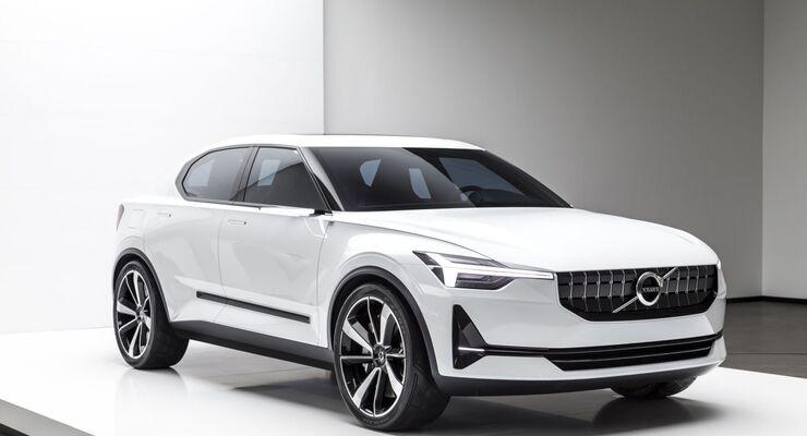 Markenausblick Volvo Schwedens Meister Proper Firmenauto