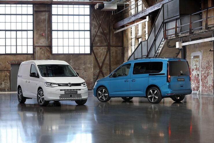 VW Caddy (2021): Sondermodelle zum Start - firmenauto
